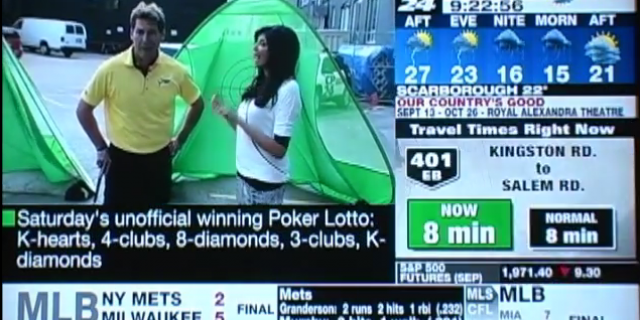 CP24 Brekfast – Canadian Open – Lessons With Dave Hartmann